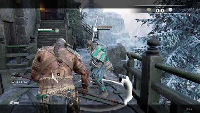 Watch and share For Honor - Guard  Break GIFs by geminibros on Gfycat