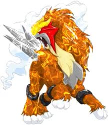 Watch and share Entei GIFs on Gfycat