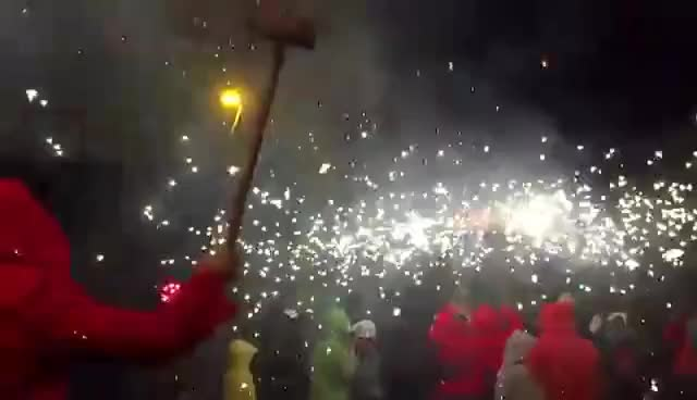 Watch Correfoc Sant Antoni Barcelona Jan 2016 GIF on Gfycat. Discover more related GIFs on Gfycat