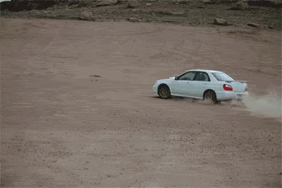 Watch and share STI Donuts Are Fun!!!     That's Devil's Playground On Pike's Peak. GIFs on Gfycat