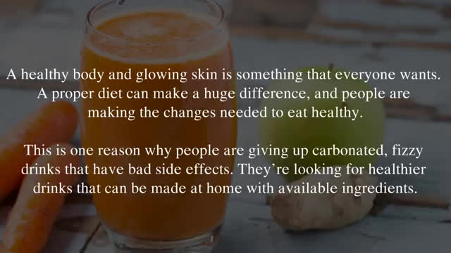 Amazing Benefits Of Fresh Ginger Carrot Juice You Should Kno GIFs