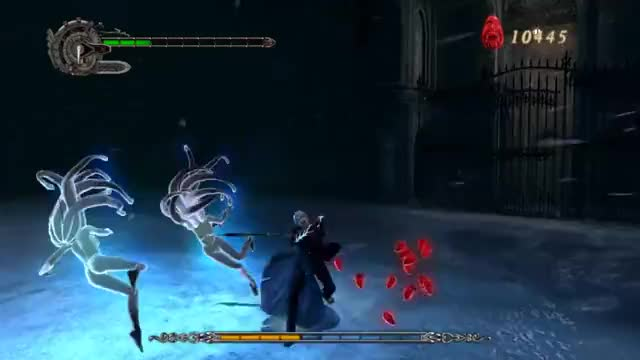 Watch Devil May Cry 4 - Nero meets Bael GIF by @iibewegung on Gfycat. Discover more dmc4, gamegifs GIFs on Gfycat