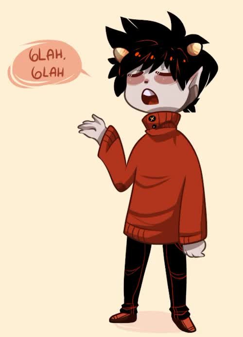 Watch and share Kankri Vantas GIFs and Homestuck GIFs on Gfycat