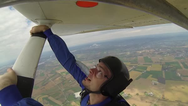skydive, skydiving, Don't forget to breathe GIFs
