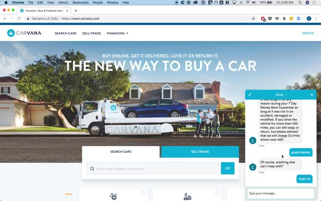 Watch and share Carvana-Chat GIFs on Gfycat