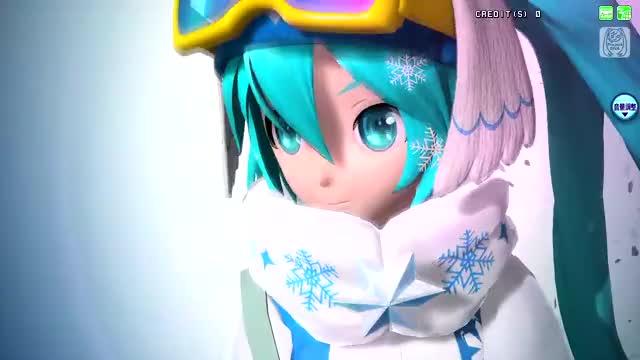 Watch Flight GIF by KotoShiro (@grimmcat) on Gfycat. Discover more hatsune miku, project diva arcade ft GIFs on Gfycat