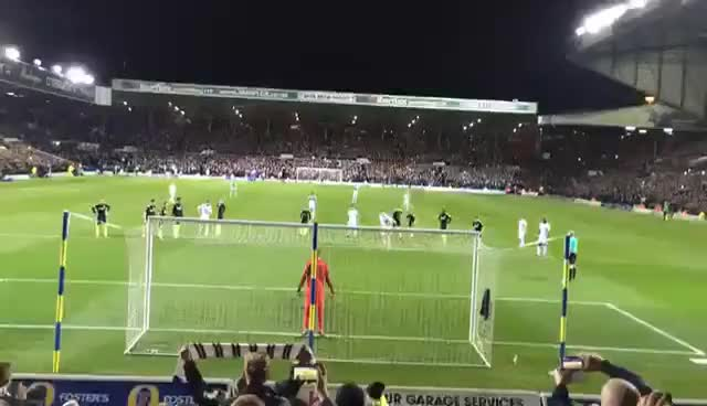 Watch and share Chris Wood Penalty Goal Vs Brighton 18/3/17 GIFs on Gfycat