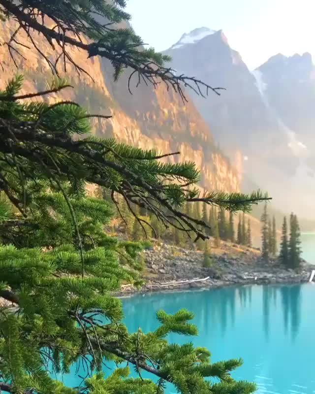 Watch Morraine Lake, Banff national park - Canada GIF on Gfycat. Discover more Viral Nature GIFs on Gfycat