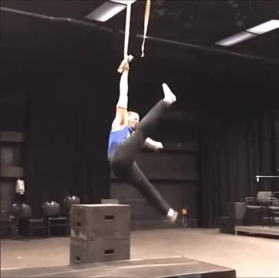 Watch Gymnast makes a perfect recovery GIF by Reverser (@reverser) on Gfycat. Discover more reverse GIFs on Gfycat