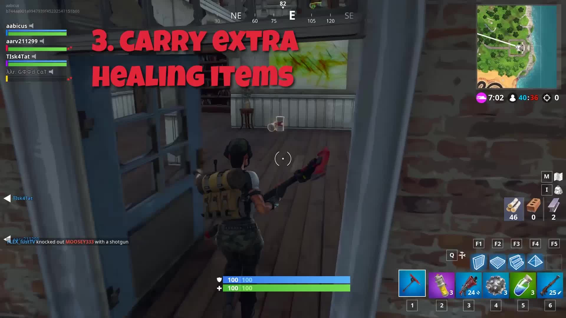 fortnite, Fortnite Extra Healing items GIFs