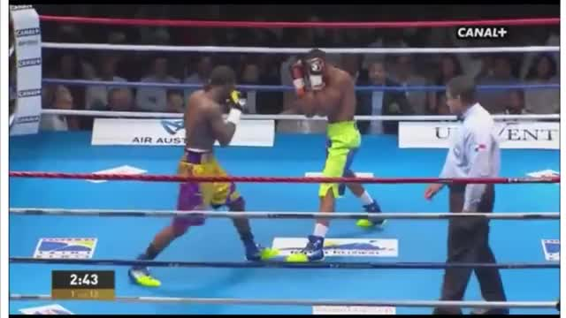 Watch Hassan N'Dam knocks out Alfonso Blanco in round 1 GIF by @marshalldrum on Gfycat. Discover more alfonso, hassan, n'dam GIFs on Gfycat
