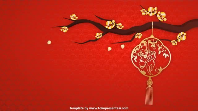 Watch and share [Tokopresentasi.com] AB 004 - Free Powerpoint Template Chinese New Year 2016 GIFs on Gfycat