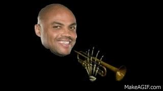 charles barkley, Slam Trumpet - Quad City DJs vs. Skull Trumpet GIFs
