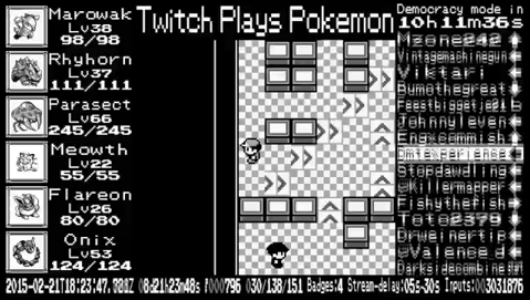 twitchplayspokemon, Rocket Maze in Anarchy [TPP Red Anniversary] GIFs