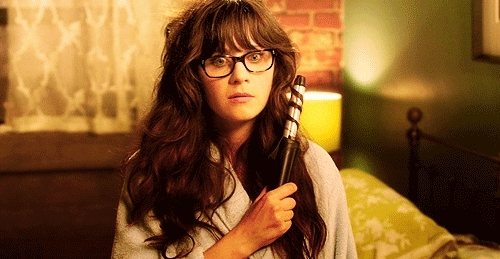 Zooey Deschanel, frown, sad, unhappy, Frown GIFs