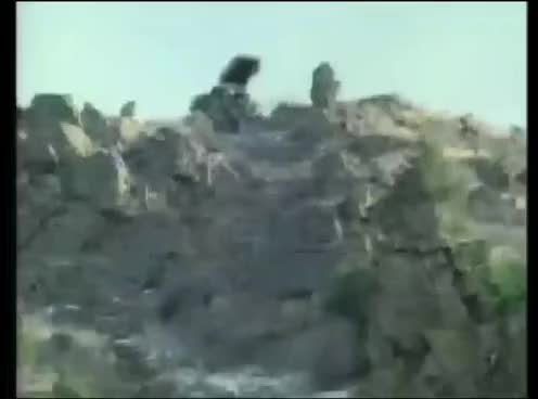 Watch and share Car Flies Off A Cliff! GIFs on Gfycat