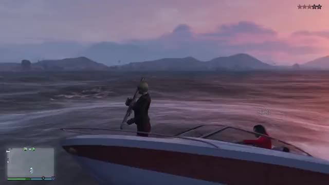 Watch and share GTA V Online - Stunts And Bloopers - Bad Diver GIFs by intangir on Gfycat