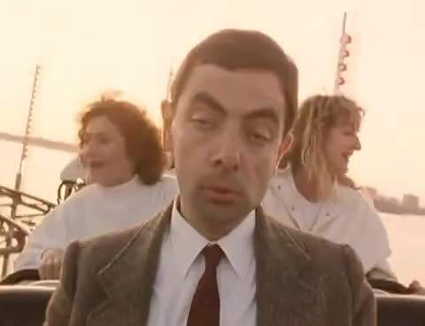 Watch and share Rowan Atkinson GIFs and Rollercoaster GIFs on Gfycat