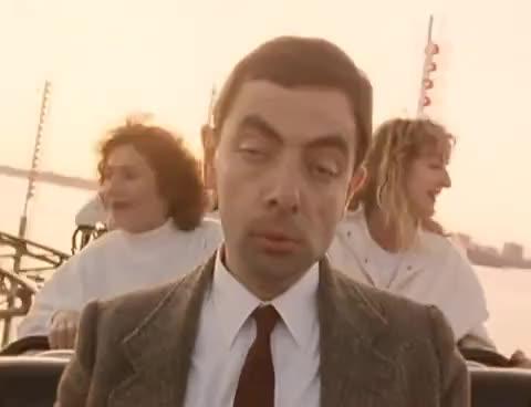 Watch Mr Bean - Rollercoster GIF on Gfycat. Discover more Rowan Atkinson GIFs on Gfycat