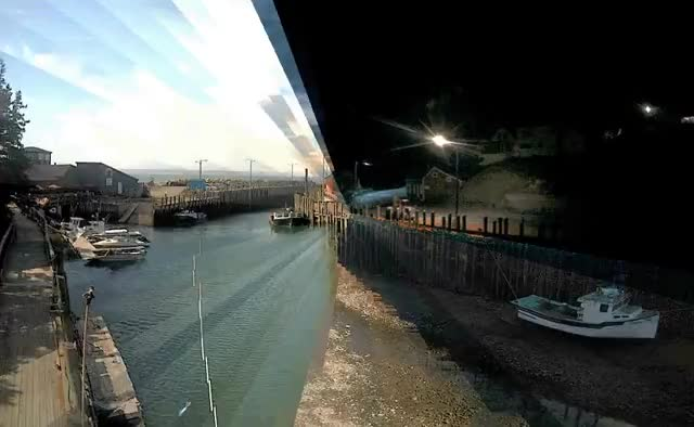 Watch and share Timescape: Hall's Harbour, Nova Scotia GIFs on Gfycat