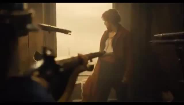 Les Miserables Death of Enjolras and End of Revolution GIFs