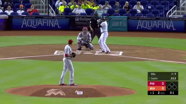 Watch Slider 91 mia GIF on Gfycat. Discover more Miami Marlins, Philadelphia Phillies, baseball GIFs on Gfycat