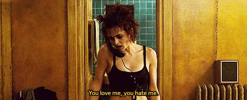 Watch and share Helena Bonham Carter GIFs and Fight Club GIFs on Gfycat