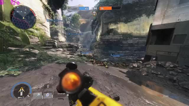 Watch and share Kraber Shot GIFs and Titanfall 2 GIFs by illuminoacey on Gfycat
