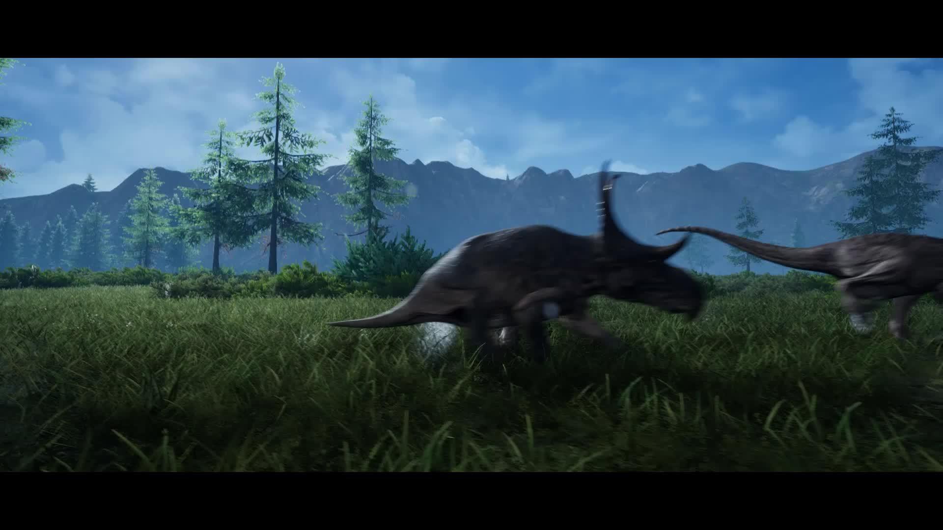 Diablo, Dinosaur, The Isle, Diablo Running GIFs