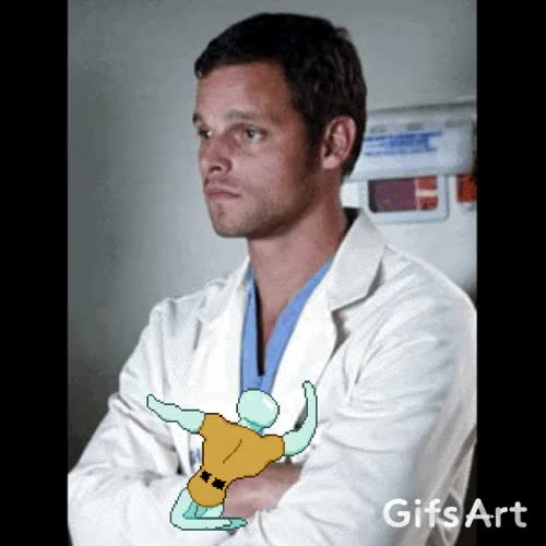 Watch and share Justin Chambers GIFs and Patrick Dempsey GIFs on Gfycat
