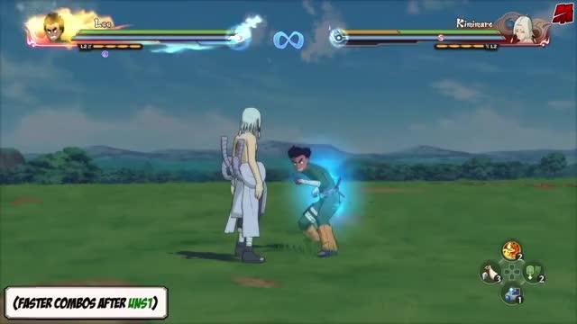 Watch Naruto Ultimate Ninja Storm 1-4 - Rock Lee Movesets [+DLC2] GIF by Zenaki (@jeirin) on Gfycat. Discover more Naruto Shippuden: Ultimate Ninja Storm 3 (Video Game), Sasuke Uchiha (Fictional Character), generations, naruto, ninja, nuns, playstation, ps3, storm, ultimate GIFs on Gfycat