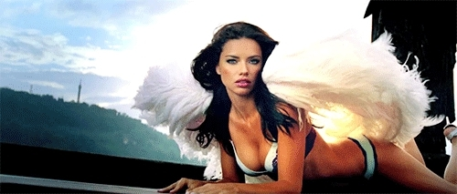 adriana lima, Adriana Lima - Sexy Angel GIF  GIFs