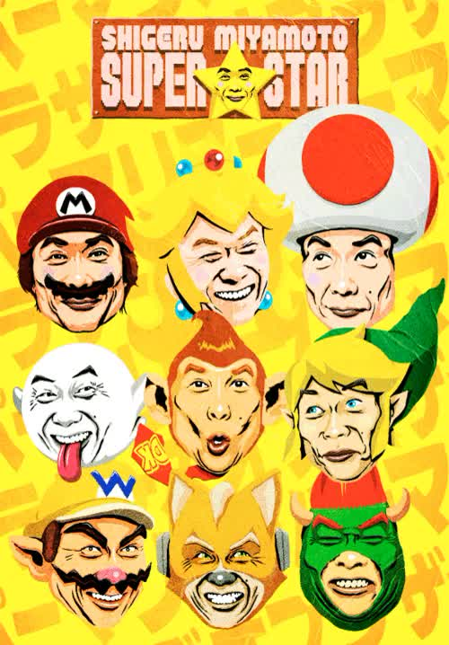 Watch Shigeru Miyamoto Nintendo charcaters mario donkey kong GIF on Gfycat. Discover more related GIFs on Gfycat