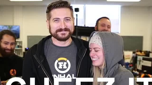 Watch cheez its (funhaus) GIF on Gfycat. Discover more adam, adam kovic, celebrity, celebs, dad, elyse, elyse willems, father, funhaus, gone, sad, subscrobbler GIFs on Gfycat