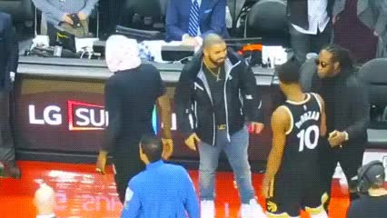Watch and share DeMar DeRozan X Drake GIFs by Off-Hand on Gfycat