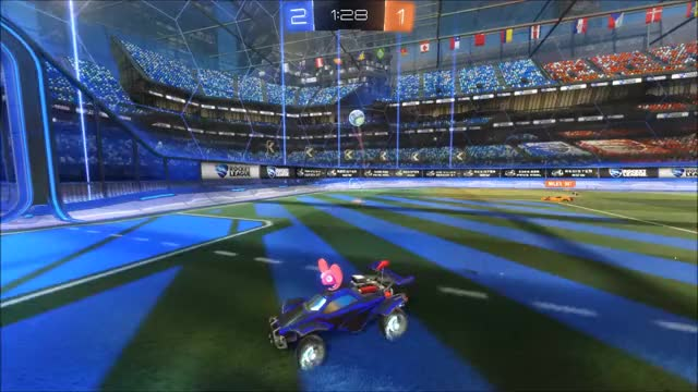 Watch and share Rocket League GIFs and Goalie GIFs by Scop3d on Gfycat