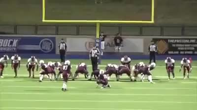 Watch and share High School Xtra Point Goes Off Refs Head For A Win GIFs by Beef on Gfycat