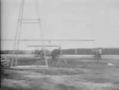 Watch Wright Brothers First Flight (1908) - Le Mans, France GIF on Gfycat. Discover more related GIFs on Gfycat