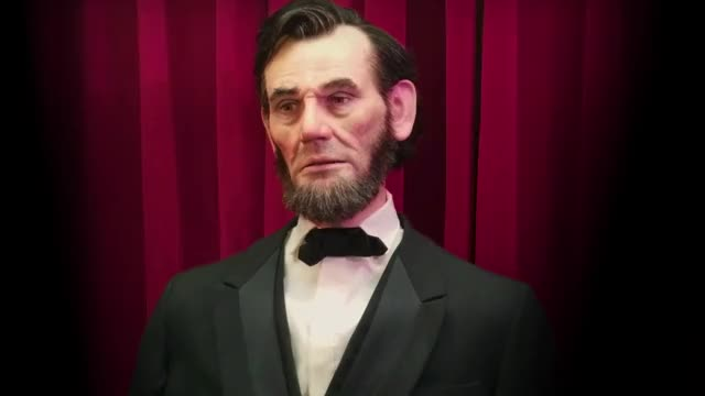 Watch Garner Holt Productions Animatronic Lincoln Expressive Humanoid Robot Head GIF on Gfycat. Discover more animatronic, animatronics, expressive robot, human robot, humanoid robotic, robot, robot head, robotics, special effects', theme park GIFs on Gfycat