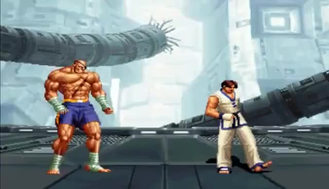 Watch and share SvC Chaos - SNK Vs. Capcom: All Sagat's Pre-Battle Dialogue GIFs on Gfycat