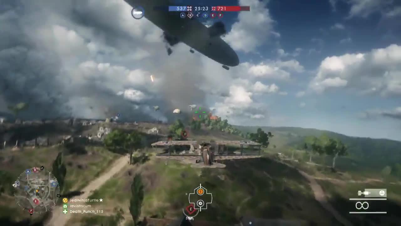 battlefield_one, JediNinjaTurtle👻🎃 - Sick aerial tricks #BF1 #Battlefield1 #PS4share GIFs