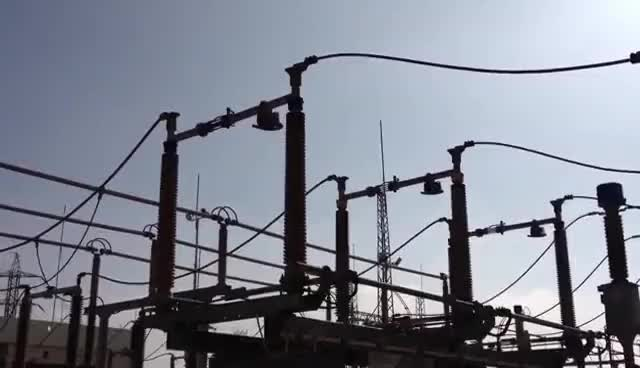 Watch and share Open Disconnector And Closing Grounding Switch On 161kv GIFs on Gfycat