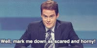 Watch and share Bill Hader GIFs and Horny GIFs on Gfycat