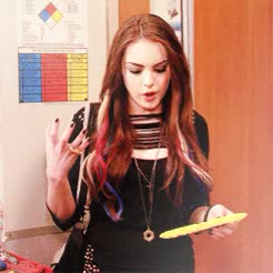 Watch and share Elizabeth Gillies GIFs and Liz Gillies GIFs on Gfycat