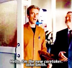 Watch and share Peter Capaldi GIFs on Gfycat