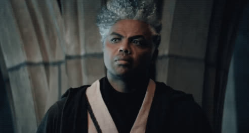 charles barkley, confused, huh, the mos eisley five, what, Cut for Time: Star Warriors - SNL GIFs
