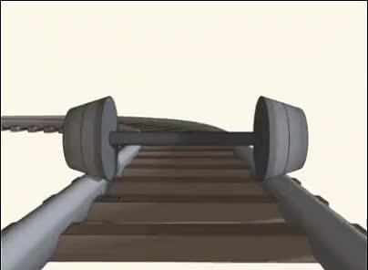 How trains turn : oddlysatisfying GIFs