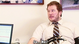 also his face in the 2nd gif, andy dwyer, lie detector, look how happy he is in the last gif, pannedpandawork, parks and rec, parks and rec s05e13, parks and recreation, parksedit, Panned Panda GIFs