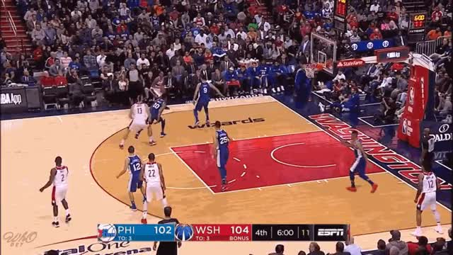 Watch and share Oubre PHI 3.gif GIFs on Gfycat