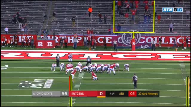 Watch and share FFFF Rutgers Saddest Field Goal Ever GIFs by Seth Fisher on Gfycat